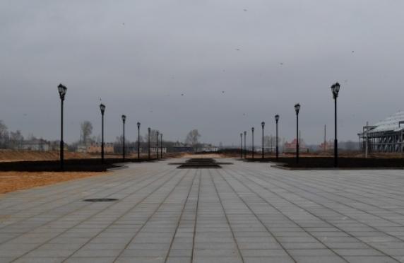Будущий Воскресенский парк в Йошкар-Оле будет безопасным