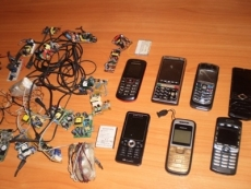 В колонии Марий Эл изъята крупная партия мобильных телефонов