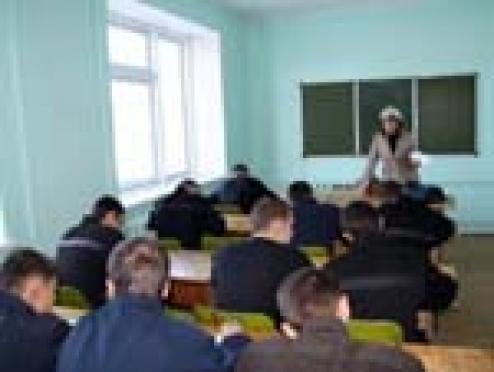В исправительной колонии №5 (п.Ясный, Марий Эл) начался учебный год