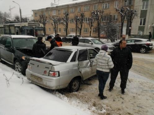 Водитель КамАЗа нарушил правила дорожного движения