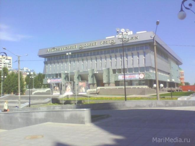 На сцене Академического русского театра — Чехов