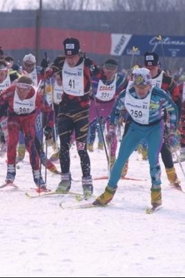 IV этап Кубка Республики Марий Эл по лыжным гонкам постер