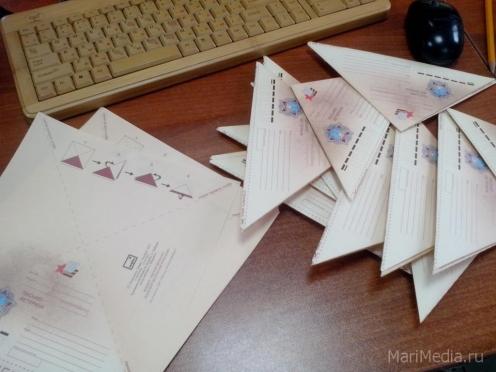 12 500 «фронтовых» треугольников разошлись по Марий Эл