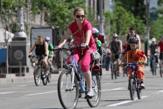 21 мая — на работу на велосипеде