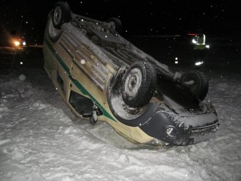 В Медведевском районе произошло ЧП с инкассаторским автомобилем