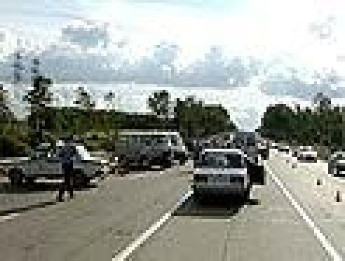 В Марий Эл «Toyota RAV4» протаранила три вазовских автомобиля