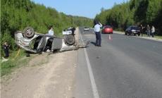 В Звениговском районе разбилась иномарка. Есть жертвы