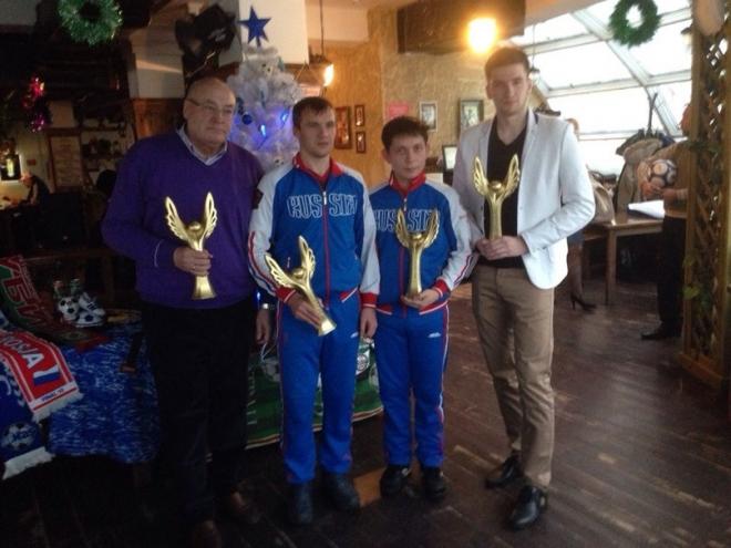 Защитник ижевского «Зенита» признан лучшим футболистом 2015 года в Марий Эл