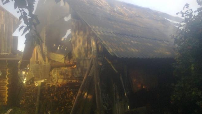 Замыкание электропроводки стало причиной пожара в Горномарийском районе