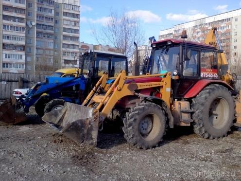 Йошкар-Олу закрыли для большегрузов и колесных тракторов