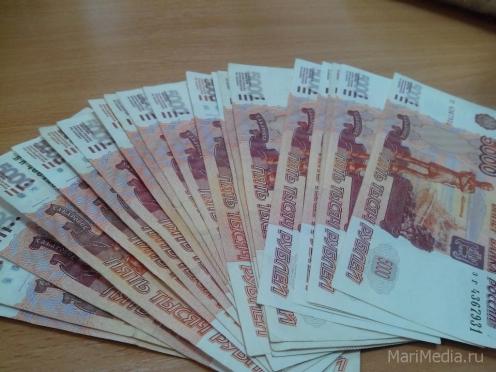 В Марий Эл задолженность по заработной плате превысила 10 млн рублей