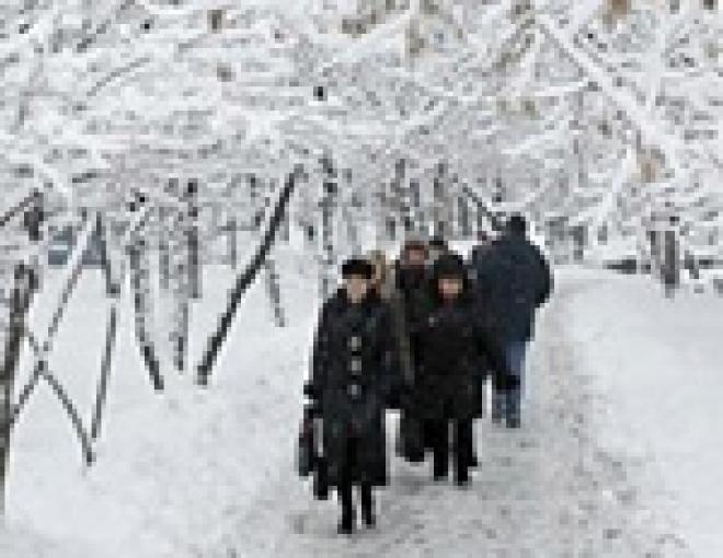 Ситуация со снегопадом в Марий Эл – одна из самых спокойных в Приволжье