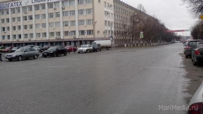 В Йошкар-Оле началось предпраздничное перекрытие дорог