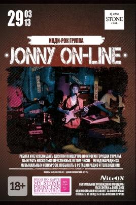 Jonny On-line постер