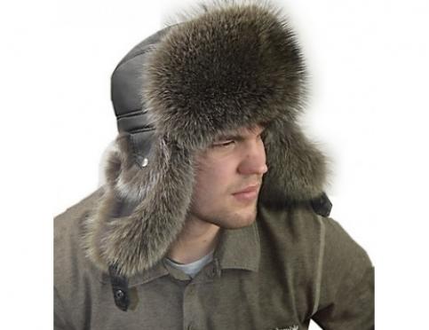 Модная шапка ушанка