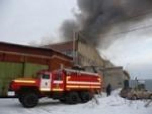 В Марий Эл добровольные пожарные показали себя в деле