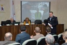 Общественники отчитались о проделанной работе за год