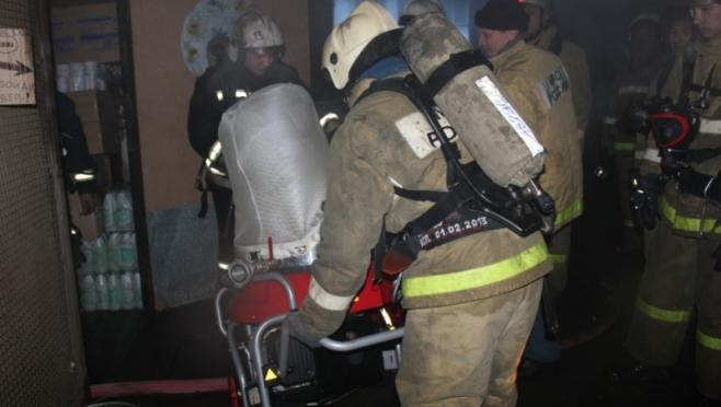В Куженере пожарные спасли 8 человек