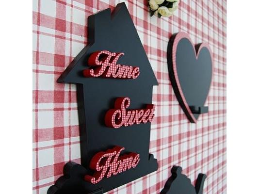 * home sweet home - дом, милый дом.