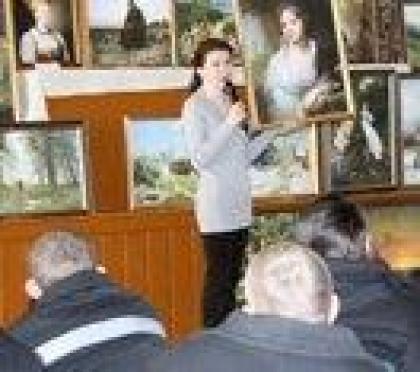 Заключенные Марий Эл познакомились с творением русских живописцев