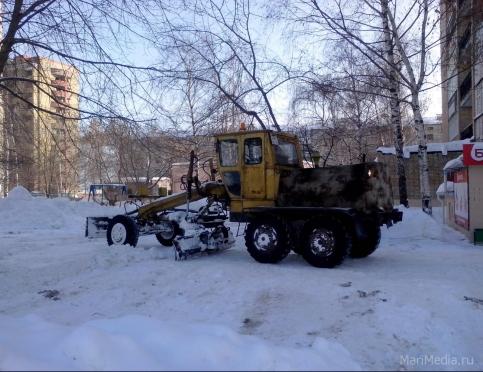 В Йошкар-Оле переулок Заводской закрыт для движения автотранспорта