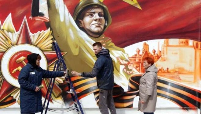 За «колючей проволокой» появится профессионально выполненное граффити