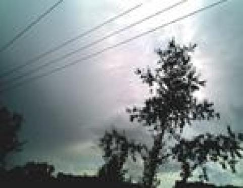 Грозовой фронт прошелся по районам Марий Эл