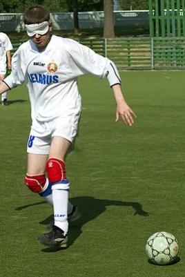 Чемпионат Республики Марий Эл по мини-футболу среди инвалидов по зрению постер