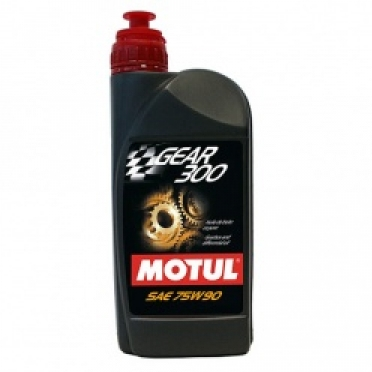 Трансмиссионные масла MOTUL GEAR 300 и MOTULGEAR