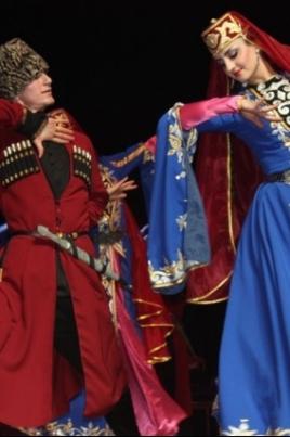 Гастроли Чеченского Государственного ансамбля