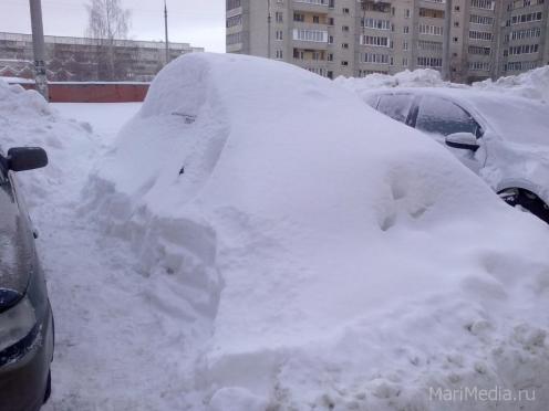 В Йошкар-Оле стартует декада уборки дворовых территорий от снега