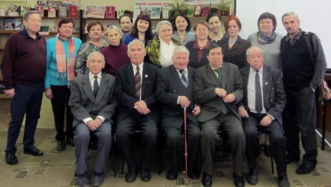 Клубу «Марийский краевед» исполнилось 30 лет