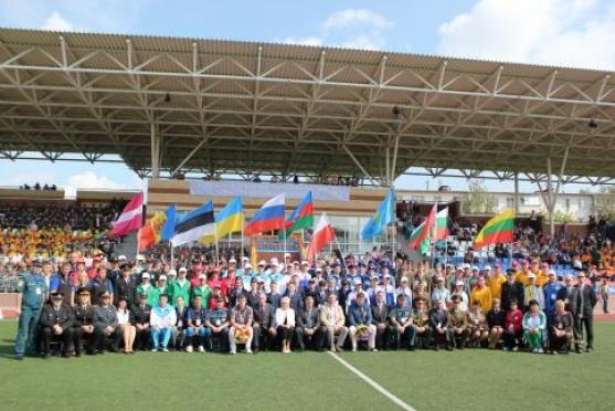 Школьники из Марий Эл взяли «золото» на Международных соревнованиях «Школа безопасности»
