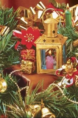Рождественские посиделки постер