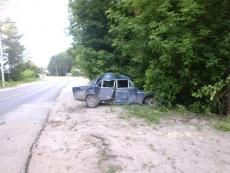 В Волжске 14-летний угонщик с другом разбил «шестерку»