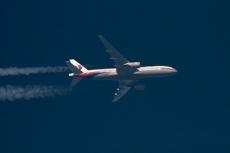 В Донецкой области упал малайзийский авиалайнер Boeing 777