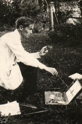 А.В. Григорьев - художник, общественный деятель (1891-1961) постер