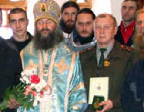 Начальнику Медведевской ИК вручили медаль РПЦ