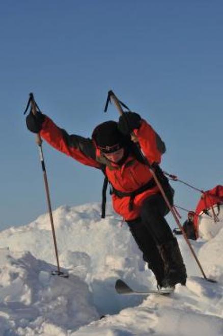 Флаг Марий Эл появится на Северном полюсе