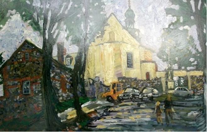 Нижегородская династия художников представила в Йошкар-Оле свои работы
