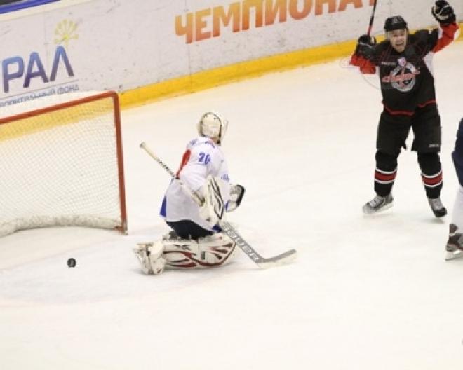 Победная поступь «Ариады» закончилась в Челябинске