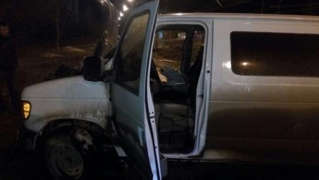 В Йошкар-Оле на ходу загорелся лимузин