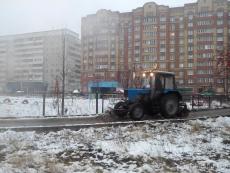 В Йошкар-Оле на борьбу со снегом брошены 63 специализированные машины
