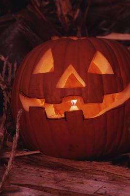 Детская хеллоуин-вечеринка постер