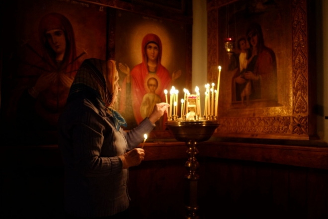 В Горномарийском районе прихожане восстанавливают женский монастырь