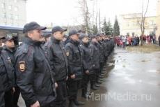 Сводный отряд марийской полиции вернулся из Сочи