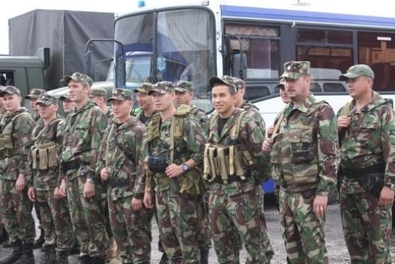 Марийский ОМОН вернулся с Северного Кавказа