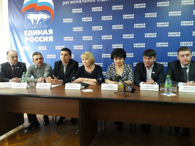 Единороссы Марий Эл  представили 12 кандидатов на парламентские выборы