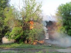 Три человека погибли на пожаре в Волжске
