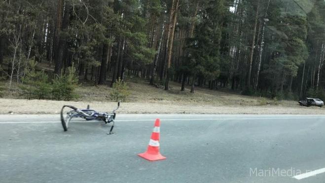 В Марий Эл велосипедисты попадают под колёса автомобилей